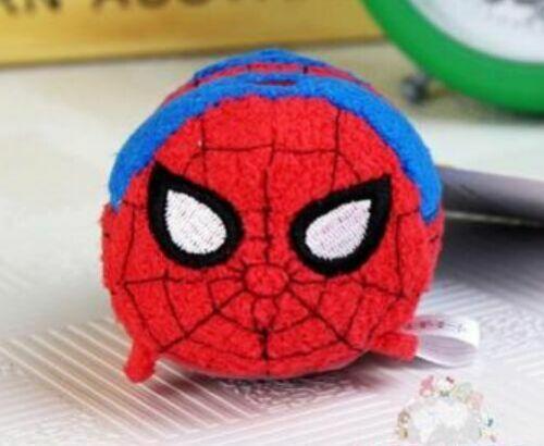 "Disney TSUM TSUM Marvel Superhero Mini Soft Plush Toys Screen Cleaner 3.5/""//9cm"