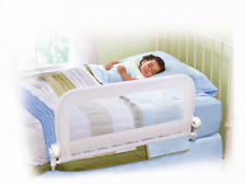 *BEST Bed Guard Guards Toddler Baby Infant Kid Single Bedrail Cotbed (White) NEW