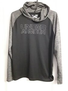 Boy Under Armour Activewear LightWeight Tee Hoodie  - Size  Youth LG -...