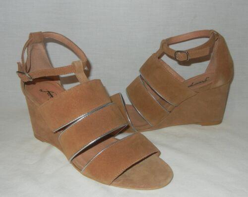 Free People Women's Final Layer Open Toe Wedge Sandal Retail $128 size 7