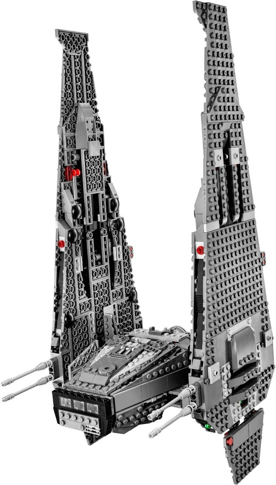 LEGO LEGO LEGO Star Wars 75104 Kylo Ren's Command Shuttle only  NEW  no minifigs  348cf7