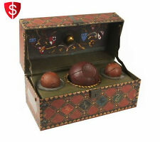 Quidditch Collectible Set Accessory with Book Movie Fantacy Fan Wizard Sport