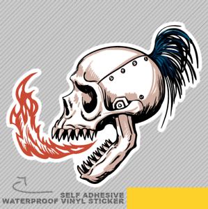 Ghost Rider Skull Road Biker Tools Vinyl Sticker Decal Window Car Van Bike 2394