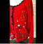thumbnail 4 - Ugly Christmas Sweater Size XL Red Skies Mittens Winter Cardigan Basic Editions
