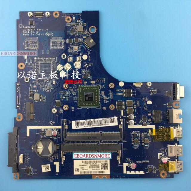 For Lenovo B50-45 motherboard ZAWBA//BB LA-B291P REV:1.0 AMD E1-6010 CPU DDR3