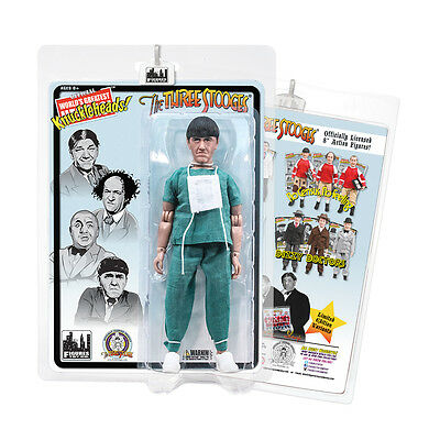 The Three Stooges 8 Inch Action Figures Graduation Moe
