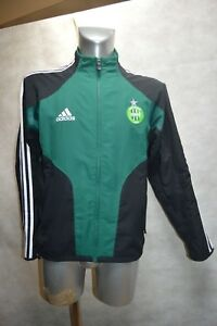 VESTE-FOOT-ADIDAS-AS-SAINT-ETIENNE-ASSE-TAILLE-S-168-GIACCA-JACKET-CHAQUETA