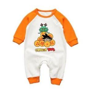 Dragon Ball / Goku & Shenron - Ranita BebÉ / Pelele / Body / Baby Romper Les Clients D'Abord