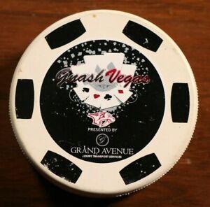 Nashville Predators GnashVegas Casino Night Puck Signed Autographed NHL Hockey