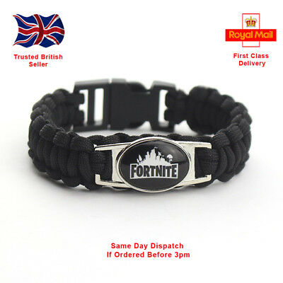 Fortnite Battle Video Game Wristband Bracelet Same Day Dispatch