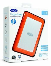 LaCie Rugged 1TB USB3 Thunderbolt series 9000488