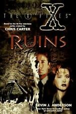 X-Files: Ruins by K. Anderson and Kevin J. Anderson (1996, Hardcover)
