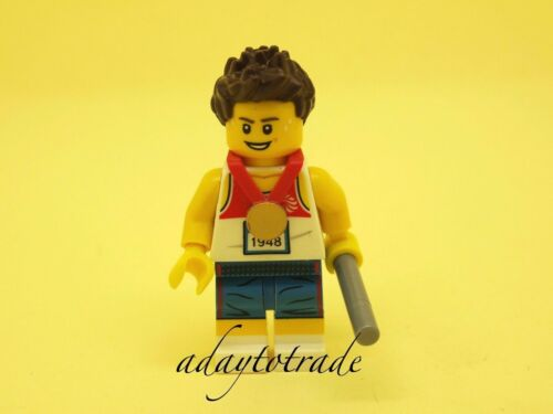 LEGO Collectable Mini Figure Team GB Relay Runner 8909-7 TGB003 R1334