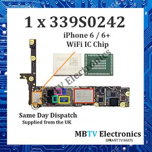 339S0242-iPhone 6/6+/6 PLUS WI-FI WIRELESS BLUETOOTH Riparazione IC-U5201_RF