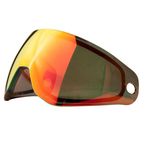 scorche Red Mirror HK Army KLR Thermal Paintball maskenglas