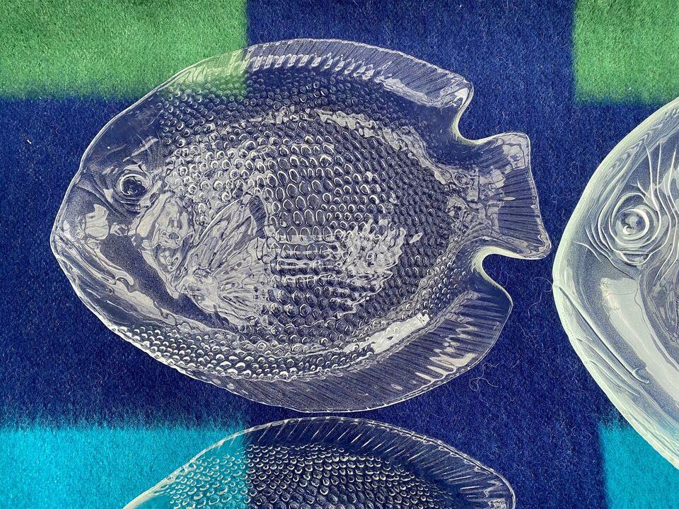 Glas, Fisketallerkener, Arcoroc