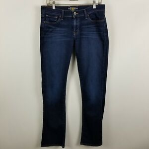 Lucky-Brand-Charlie-Baby-Boot-Cut-Womens-Dark-Wash-Blue-Jeans-Size-10-30-Regular