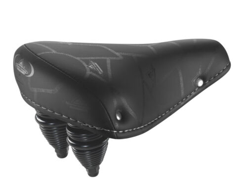 013 Saddle Montegrappa Ultra Soft Synthetic Leather with Double Spring Mod