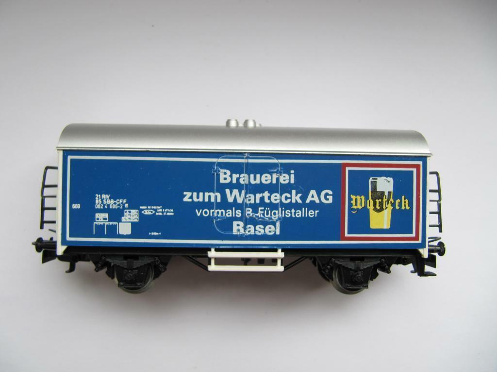 Märklin 4415 RAR SoMo Brauerei zum Warteck AG vormals B.Füglistaller Basel SBB