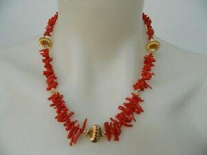 Girocollo-in-Corallo-rosso-sardo-antico-Perle-di-fiume-e-Argentone-dorato-OMA19
