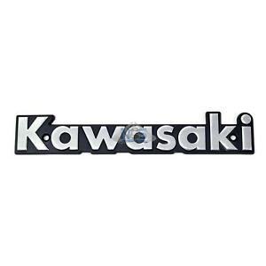 Details about Kawasaki KZ650 KZ750 KZ900 KZ1000 Gas Tank Side Emblem Badge  Silver 140mm