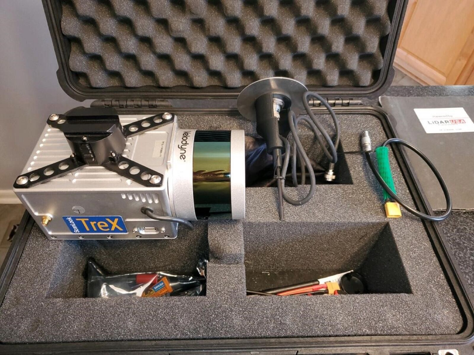 Lidar Scanner and Drone