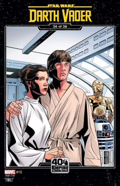 Star Wars Darth Vader #12 Sprouse Empire Strikes Back Var Marvel Comic Book