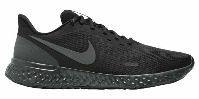 Scarpe NIKE REVOLUTION 5 uomo sneakers running da ginnastica nero BQ3204 001