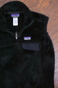 Patagonia-Re-Tool-Polartec-Vest-Black-Women-039-s-Small-S