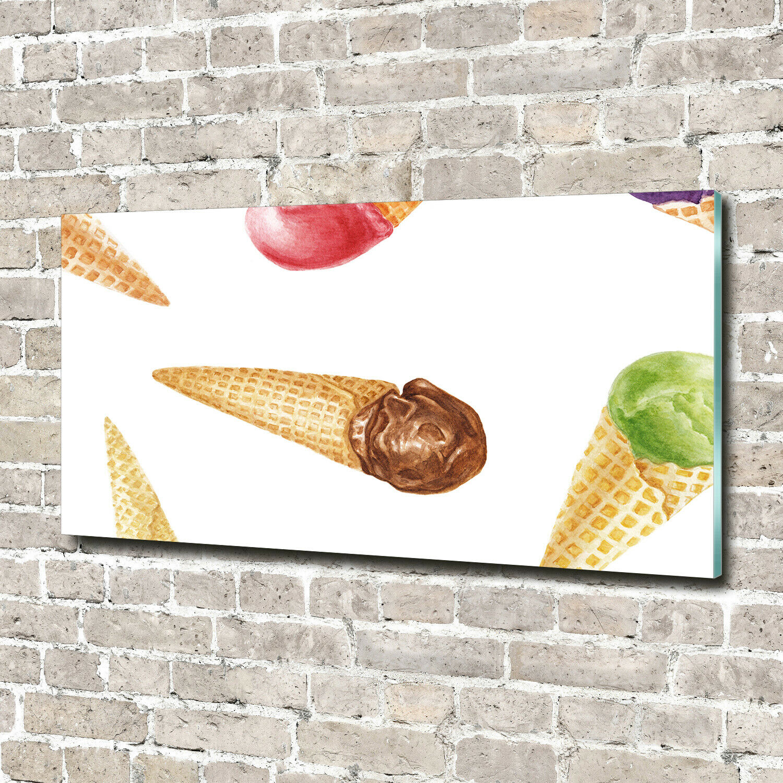 Wandbild aus Plexiglas® Druck auf Acryl 140x70 Essen & Getränke Eis