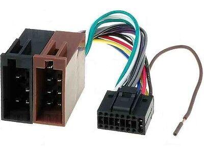 Kenwood Kdc-3021 Kdc-3024 Kdc-3027 Car Radio Stereo Iso Wiring Harness Loom  | eBayeBay