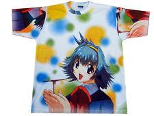 Mens Manga Cartoon Anime Print T-shirt Adult Japanese Cool Tshirt Hentai XL New