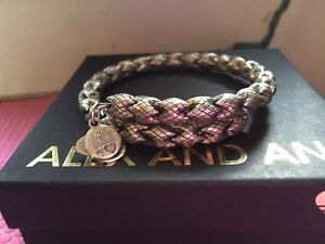 Details About Rare Alex And Ani Vintage 66 Empire Medina Beaded Russian Silver Wrap Bracelet