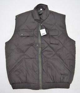 Percussion-Body-Warmer-Gilet-Padded-Utility-Vest-Warm-Work-Jacket-Sleeveless