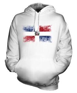 Dominicaine Délavé Drapeau Haut Capuche Unisexe Republica Sweat À République dOqn1CEd