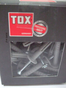50 Stück Tox Nageldübel Attack 8x100 mm Schlagdübel Dübel Einschlagdübel Neu