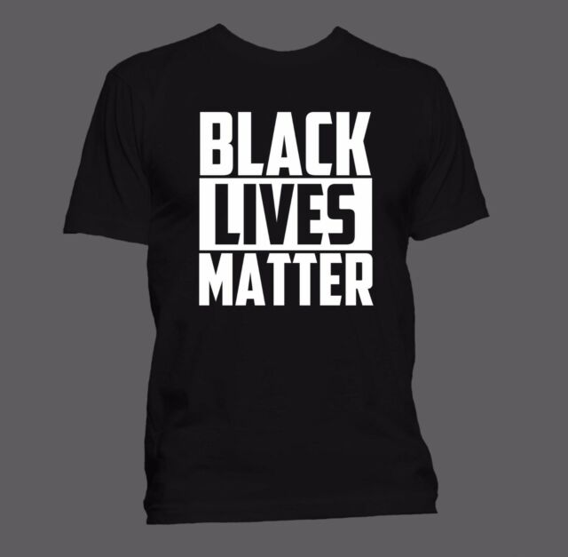 BLACK LIVES MATTER T-shirt (S-XXL) + FREE RESIST BUTTON  WITH ALL ORDERS +