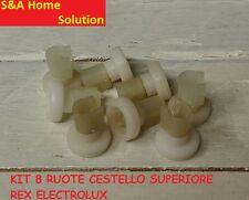 RUOTE CESTO SUPERIORE LAVASTOVIGLIE REX ELECTROLUX 50286967000