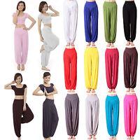 Womens Oversized Harem Long Pants Baggy Ali Baba Aladdin Trousers Yoga Leggings
