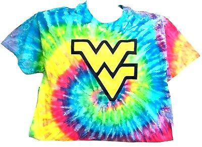 West Virginia Mountaineer/'s Tie Dye Camo Large Tee Shirt