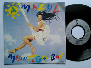 Amazulu-Montego-Bay-7-034-Vinyl-Single-1986-mit-Schutzhuelle