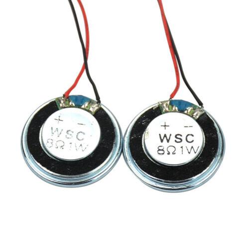 8 Ohm 1W Diameter 28mm Iron Shell Inner Magnetic Welding line Small Horn Speaker