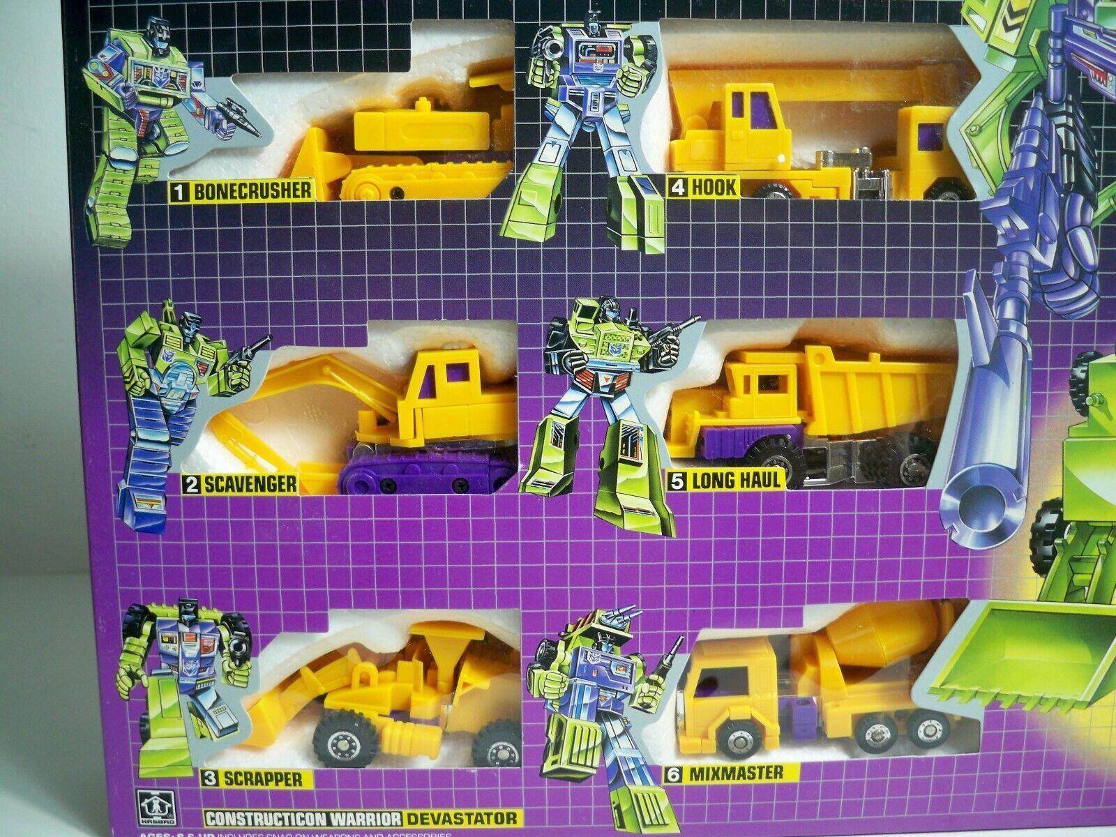 K1900001 Devastator Escavators gituttio Gift Set Nuovo di zecca in scatola sigillata riemettere Trasformatori G1
