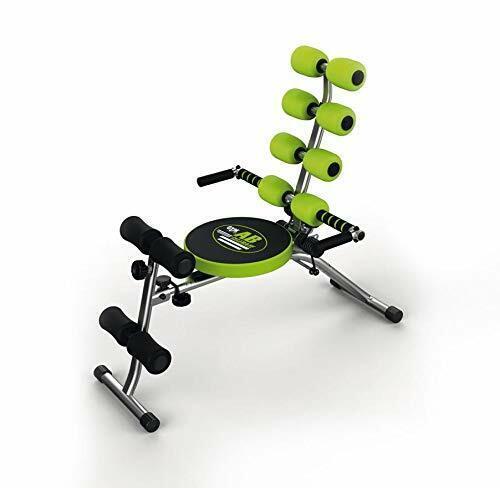 Gymform Ab Celerate Abdominal Training Equipment Black//Green Core Machine