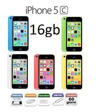 APPLE iPhone 5C 16gb GRADO B RIGENERATO BIANCO  GIALLO VERDE AZZURRO