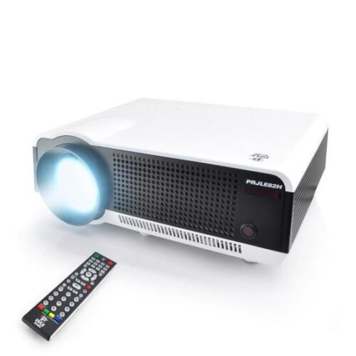 New PRJLE82H HD LED 1080p Projector Built-In Speakers Ceiling Mount