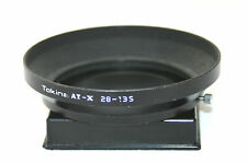Tokina At-x 28-135mm Black Metal Parasol. (67mm Push sobre y Lock)