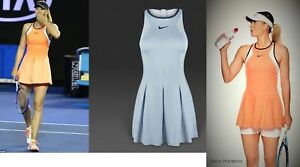 Nwt-Nike-Sharapova-Tennis-Dress-ZIPPER-XS-S-Small-M-Medium-L-Large-XL-Skirt