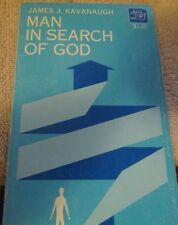 Man in Search of God by James Kavanaugh 1967,paper back HELLO GOD ARE YOU THERE?