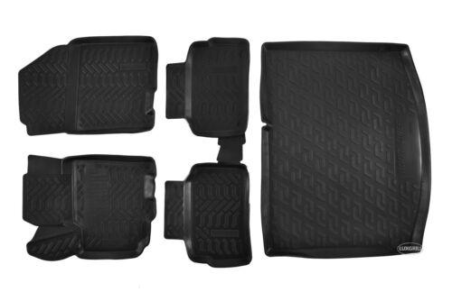 Bandeja Maletero Kit para Suzuki Vitara II Desde 3d TPE Alfombrillas de Goma